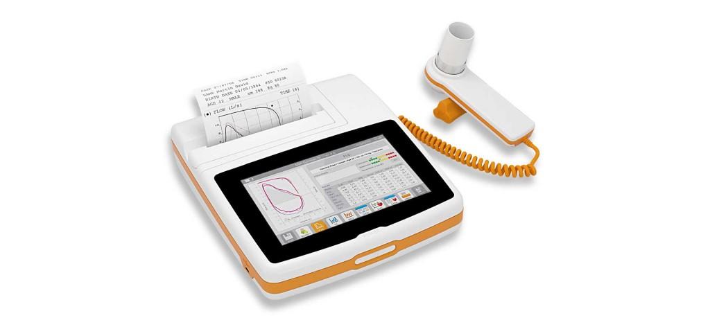 MIR spirometer Spirolab touchscreen